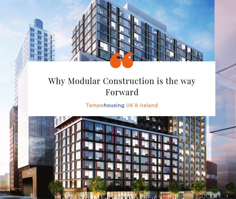 Why Modular Construction is the Way Forward