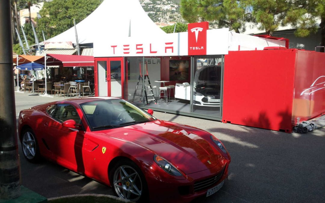Tesla Pop Up Showroom