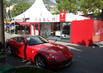 Tesla Pop Up Showroom
