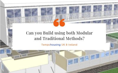 Can you Build in both Modular and Traditional Methods?