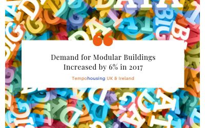 Demand for Modular Buildings up by 6% in 2017