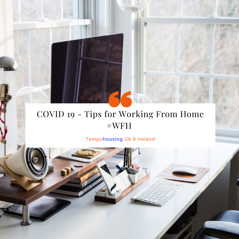 Tips For Working From Home #WFH